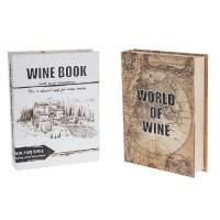 Сет от 5 аксесоара за вино, в кутия книга