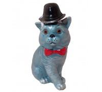 Бутилка Синя Котка, водка златогор 350 мл