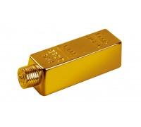 Бутилка златно кюлче, водка 200мл