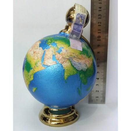 Мини бутилка от керамика Глобус, украинска водка