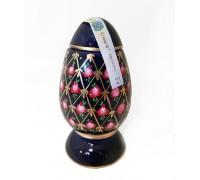 Бутилка яйце тип Фаберже, керамика, водка Златогор 200 мл
