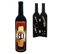 Сет от 5 аксесоара за вино в бутилка - 60 юбилей