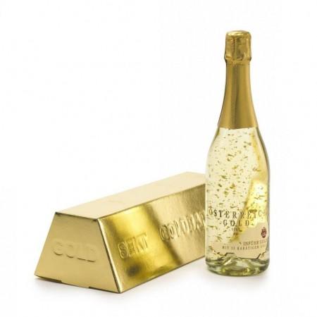 Златно шампанско (със златни частици)