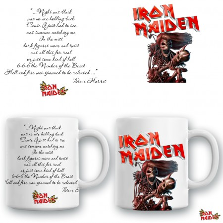 """Чаша """"Iron Maiden"""""""