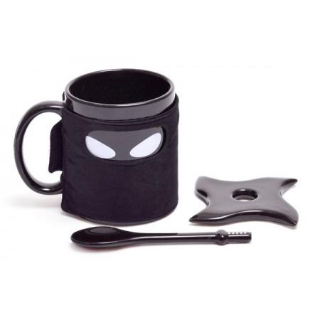 Щура чаша Нинджа с бъркалка - самурайски меч