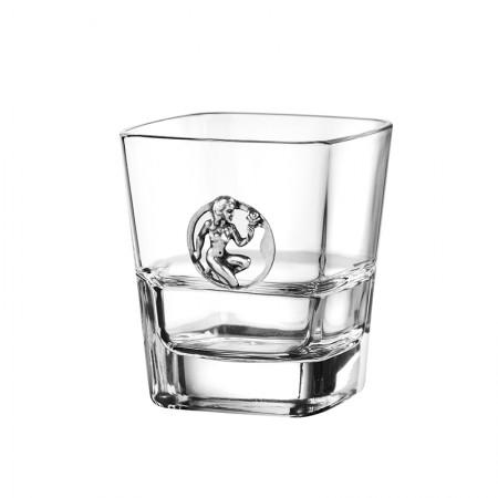 Чаша за уиски със зодия - Дева