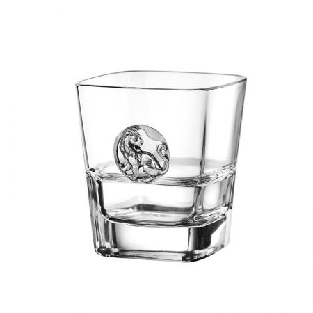 Чаша за уиски със зодия - Лъв