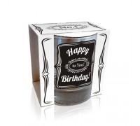 """Чаша за уиски """"Честит Рожден Ден"""""""