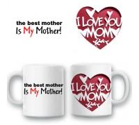 """Чаша """"Най добрата майка..."""""""