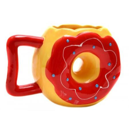 Забавна чаша за кафе Поничка, различни цветове