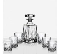 Елегантен сет Opera за уиски - бутилка и 6 чаши