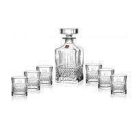 Сет за уиски Brillante, бутилка и шест чаши