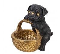 Статуетка с куче мопс