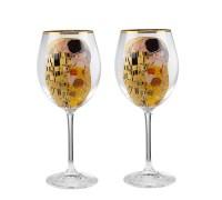 The Kiss сет чаши за червено вино