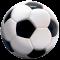 """Бяла тениска за момче с надпис """"3D футболна топка"""""""