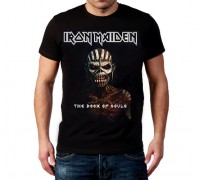 Мъжка тениска The Book of Souls, Iron Maiden