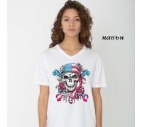"""Соларна тениска """"Американски череп"""""""