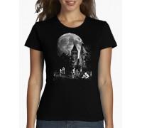 """Тениска с надпис """"Светещи Скелети"""" , дамска"""