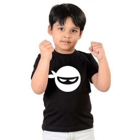 Тениска  с Нинджа, черен цвят