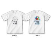 """Соларна тениска """"Делфини"""", детска"""