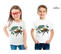 Соларна тениска Хамелеони, детска