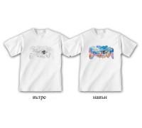 """Соларна тениска """"Морски приятели"""", детска"""