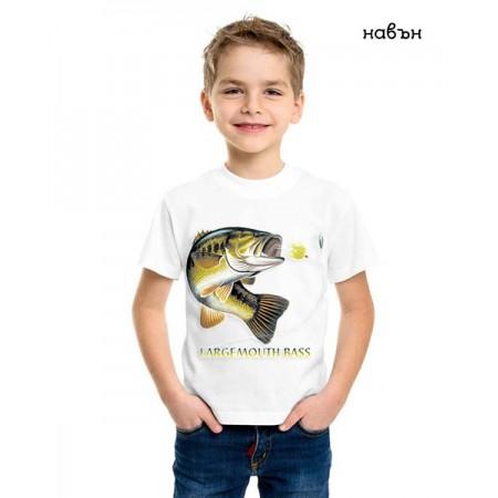 Соларна тениска риба Лаврак, детска