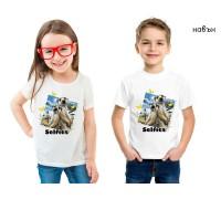 Соларна тениска Сурикати, детска