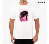 """Соларна тениска""""Черна пантера"""", мъжка"""
