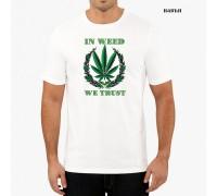 """Соларна тениска""""We trust"""", мъжка"""