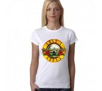 Дамска тениска с надпис ''Guns N' Roses''