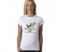 """Тениска с надпис """"SOS - Legalize it"""", дамска"""