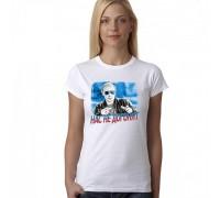 """Тениска с надпис """"Нас не догонят"""" , дамска"""