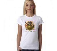 Дамска тениска с надпис ''Buldaria 681''