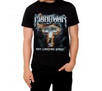 Мъжка черна тениска Manowar The Lord of Steel