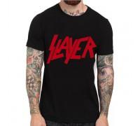 Мъжка тениска с оригинален надпис ''Slayer''