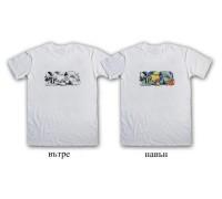"""Соларна тениска """"Малки риби"""", мъжка"""