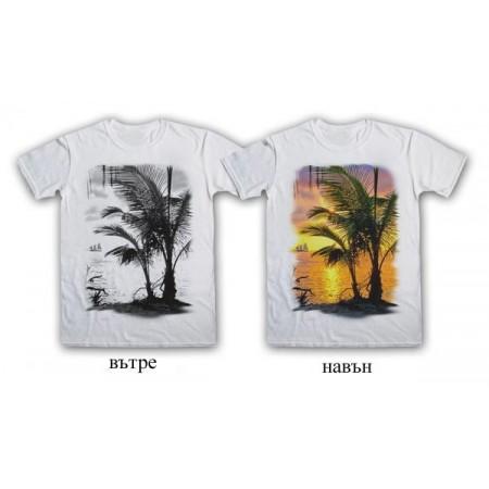 """Соларна тениска """"Залез"""", мъжка"""