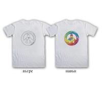 """Соларна тениска """"Знака на мира"""", мъжка"""