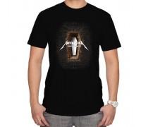 Тениска с надпис Metallica (death magnetic)