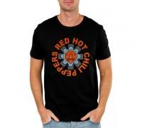 Мъжка тениска Red Hot Chilli Peppers, черна