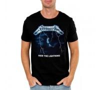 Мъжка тениска Metallica Ride the Lightning, черна