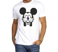 """Тениска с надпис """"Mickey Mouse'' ,мъжка"""