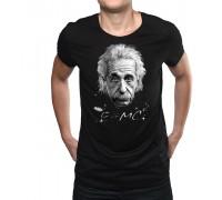 """Тениска с надпис """"Айнщайн'' ,мъжка"""