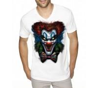 """Тениска """"Психо клоун"""", голяма щампа ,мъжка"""