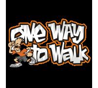 """Тениска """"One Way To Walk"""", мъжка"""