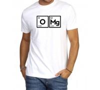 Мъжка тениска ''O Mg!''в бял или черен цвят