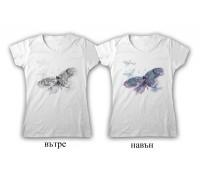 """Соларна тениска """"Голяма пеперуда"""", дамска"""
