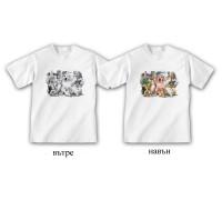"""Соларна тениска """"Животни"""", детска"""