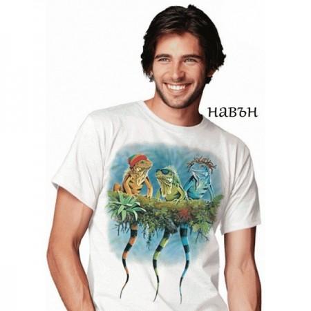 """Соларна тениска """"Реге Игуани"""", мъжка"""